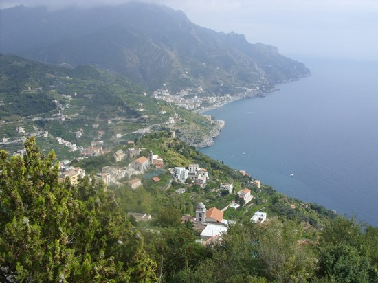 From Furore to Positano,  Amalfi and Ravello
